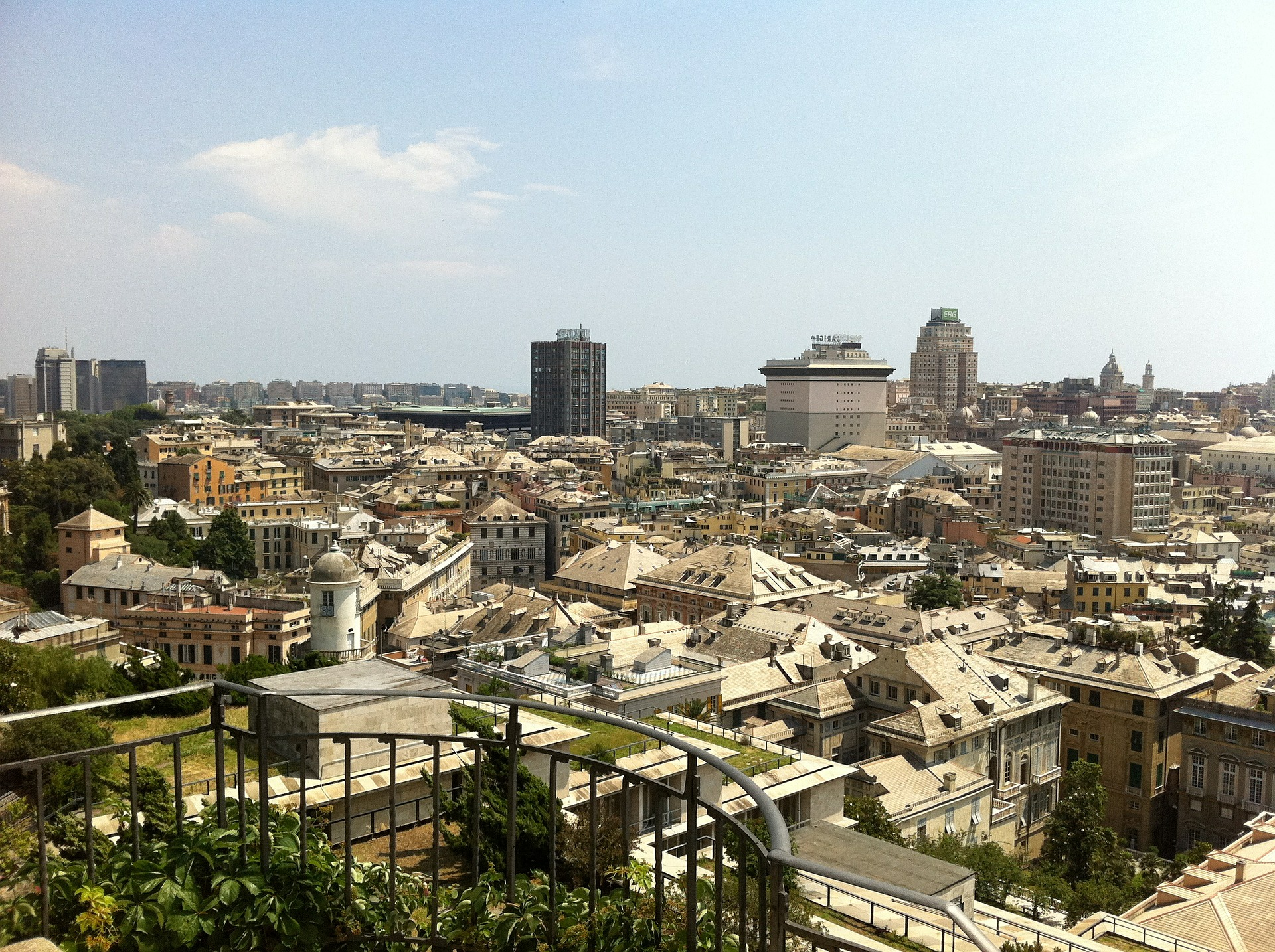 Pristaniško mesto Genova