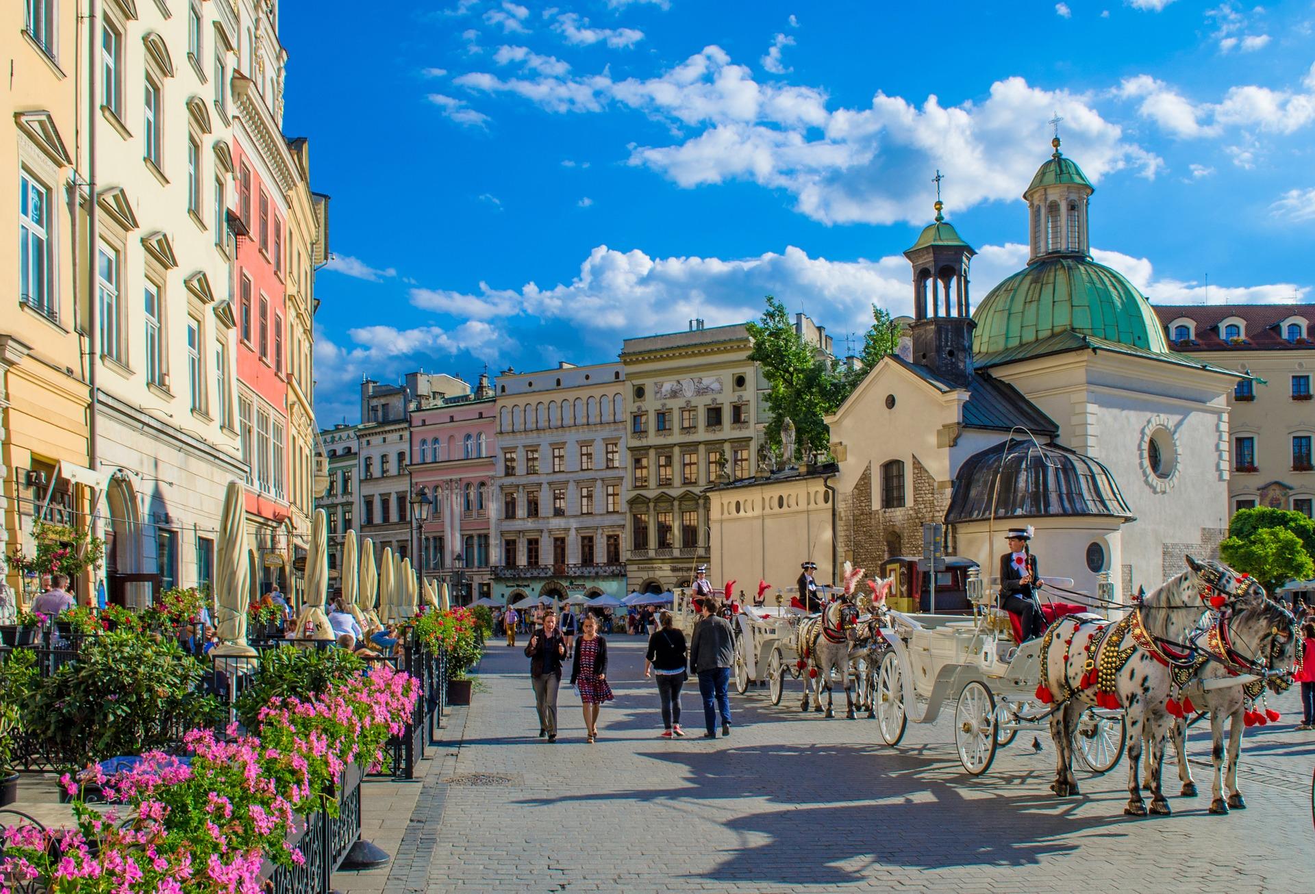 Krakov: Nekdanja poljska prestolnica