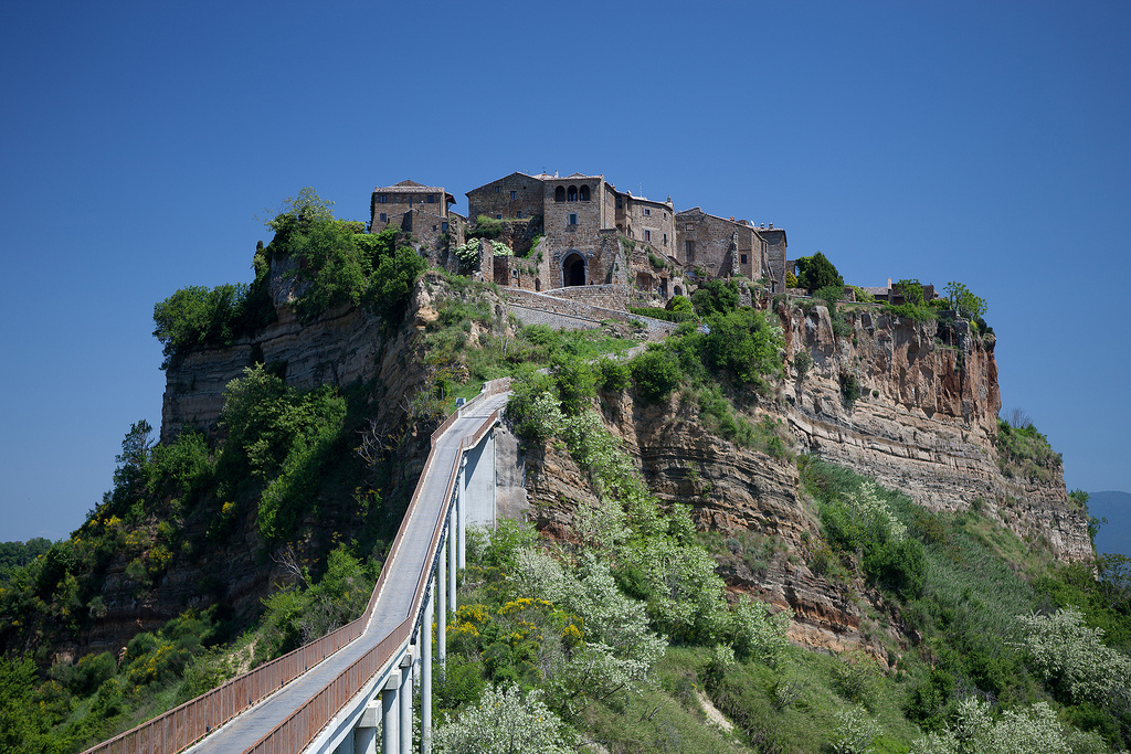 Civita di Bagnoregio v Italiji